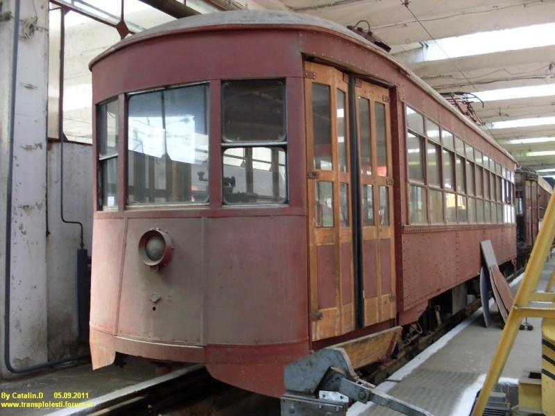 Tramvaie de epocă restaurate la TCE Ploiești Sdc10610