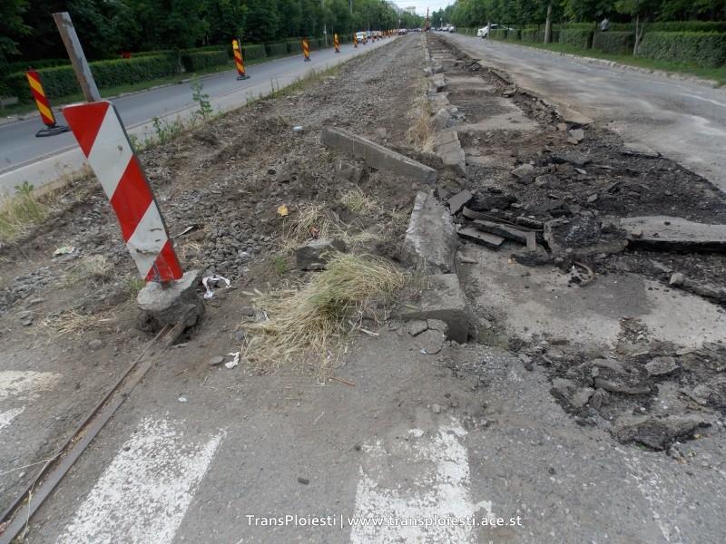 Traseul 101, etapa II: Intersecție Candiano Popescu ( zona BCR ) - Gara de Sud T8111210