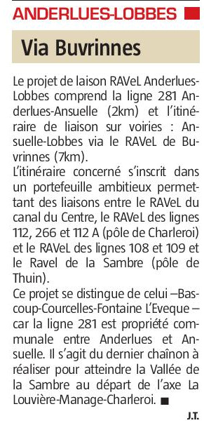RAVeL L281 (Piéton - Anderlues - Bienne-Lez-Happart) L28110