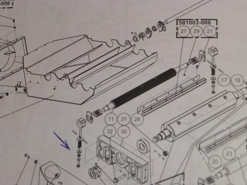 Probleme de rouleau entraineur sur A3-31 P1030917