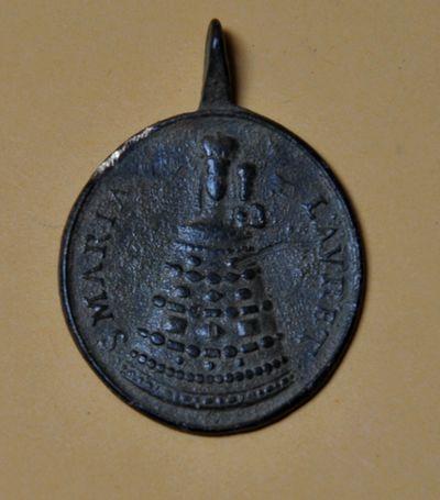 Médaille ND de Lorette & le Saint Crucifix de Sirolo - XVIIIème Dsc_0112