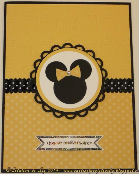 Juin 2014 - Défi ADS #42 -  Donald Duck par Michèle à la carte Annive10