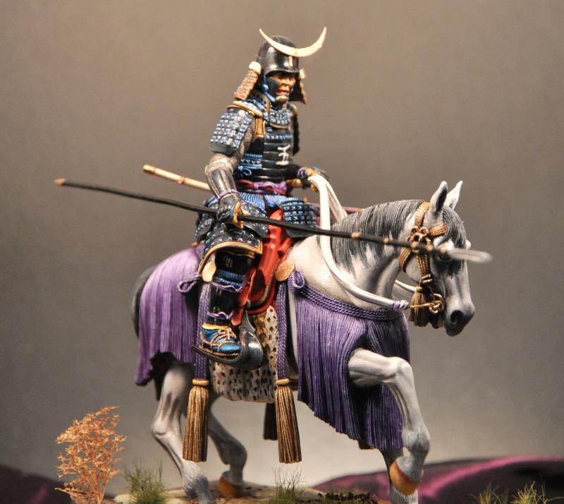 Samourai à cheval période Momoyama. 90 mm Bonapartes/Poste militaire Terminé - Page 2 Dsc_0010