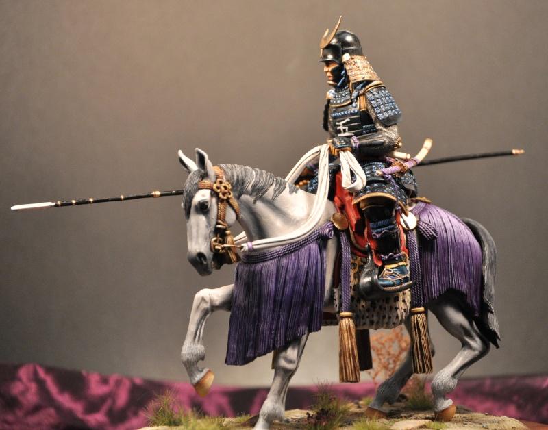 Samourai à cheval période Momoyama. 90 mm Bonapartes/Poste militaire Terminé - Page 2 Dsc_0011