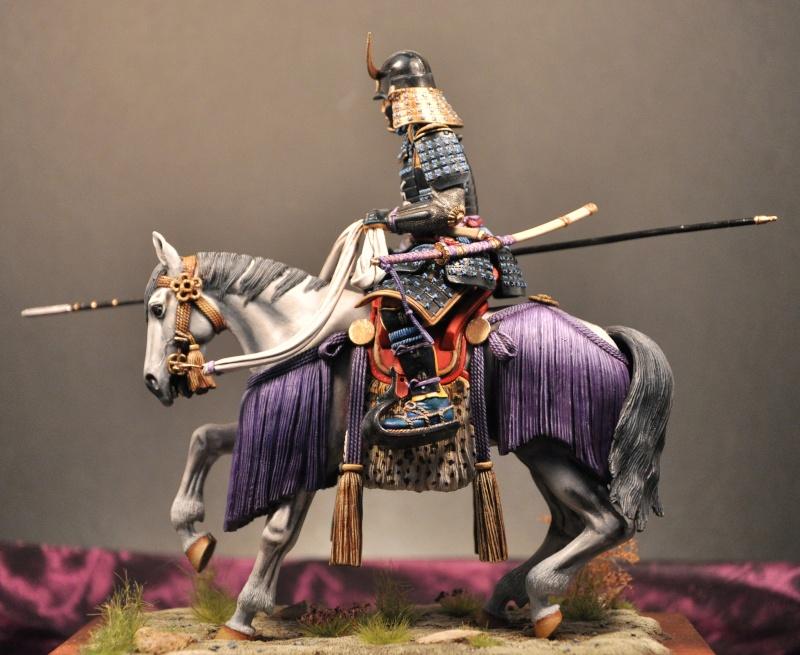 Samourai à cheval période Momoyama. 90 mm Bonapartes/Poste militaire Terminé - Page 2 Dsc_0012