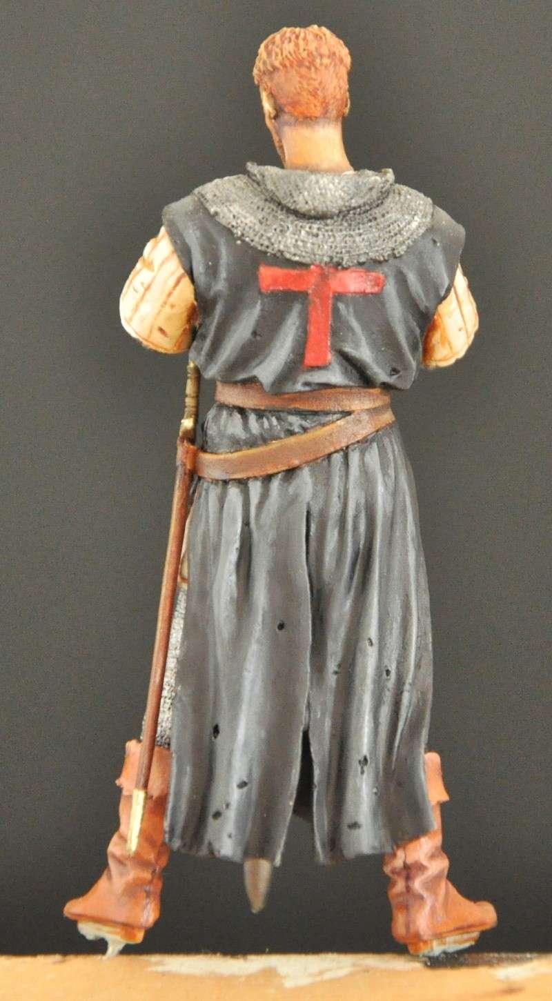 Templiers XIIème siécle- 75 mm Terminés Dsc_0018