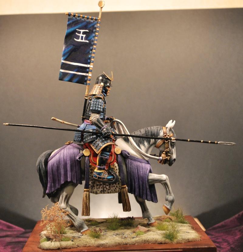 Samourai à cheval période Momoyama. 90 mm Bonapartes/Poste militaire Terminé - Page 2 Dsc_0034