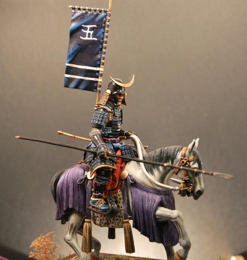 Samourai à cheval période Momoyama. 90 mm Bonapartes/Poste militaire Terminé - Page 2 Dsc_0035