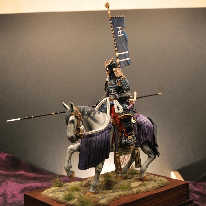 Samourai à cheval période Momoyama. 90 mm Bonapartes/Poste militaire Terminé - Page 2 Dsc_0036