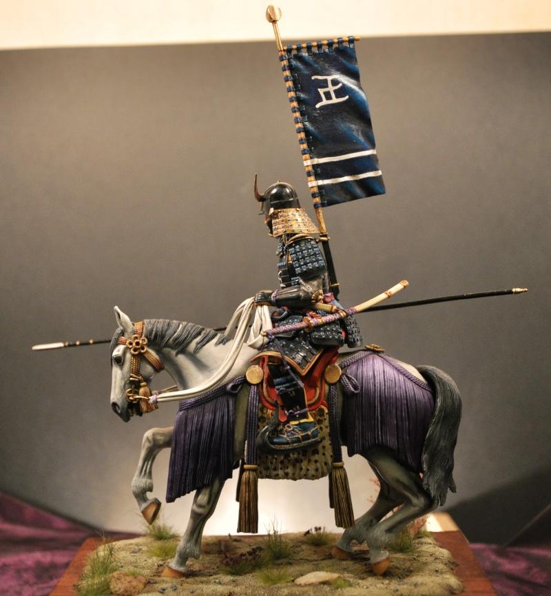Samourai à cheval période Momoyama. 90 mm Bonapartes/Poste militaire Terminé - Page 2 Dsc_0038