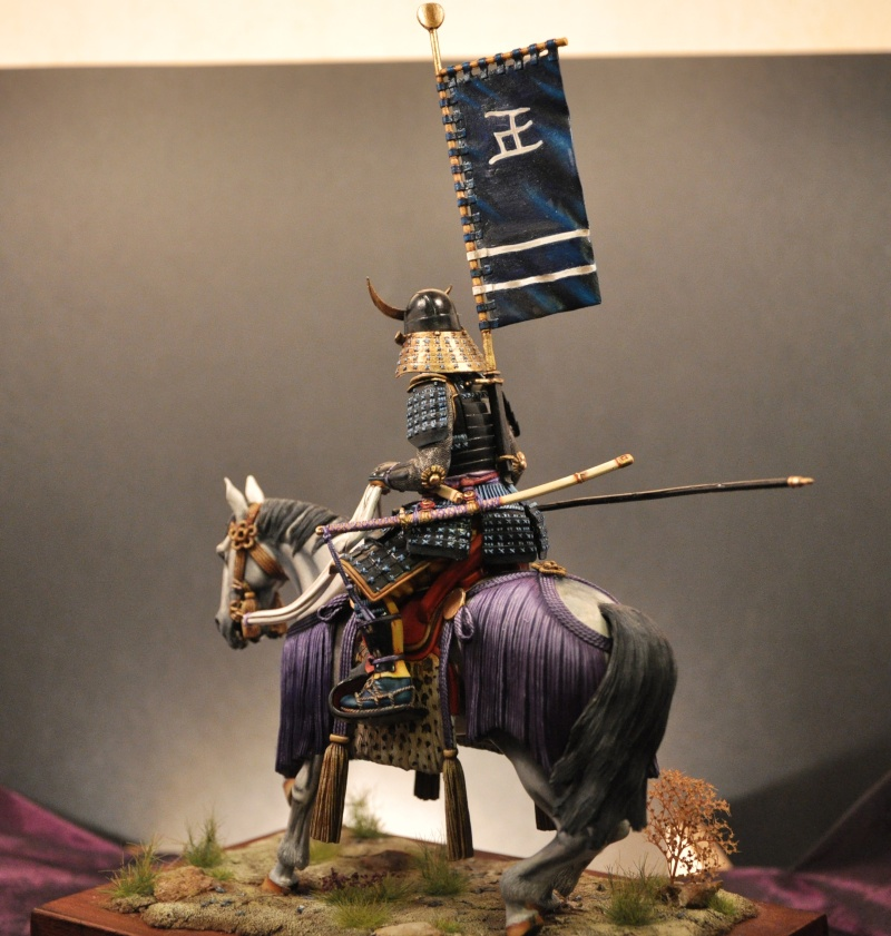Samourai à cheval période Momoyama. 90 mm Bonapartes/Poste militaire Terminé - Page 2 Dsc_0039