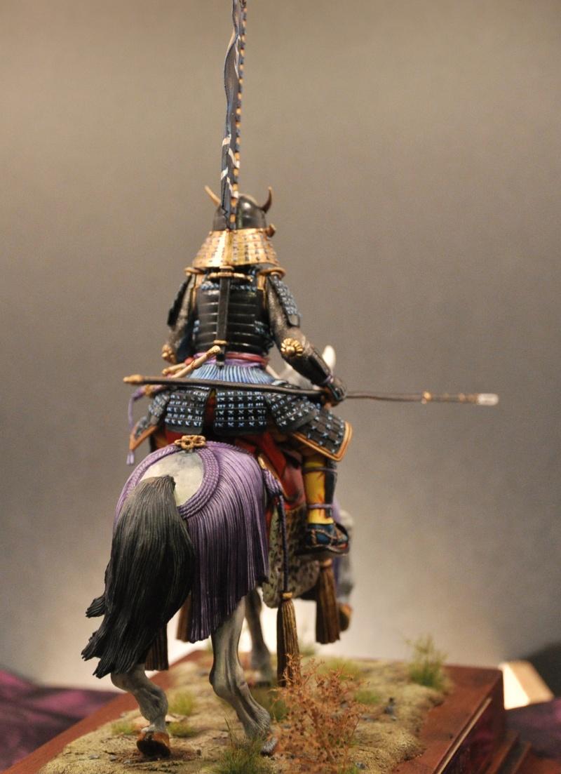Samourai à cheval période Momoyama. 90 mm Bonapartes/Poste militaire Terminé - Page 2 Dsc_0040