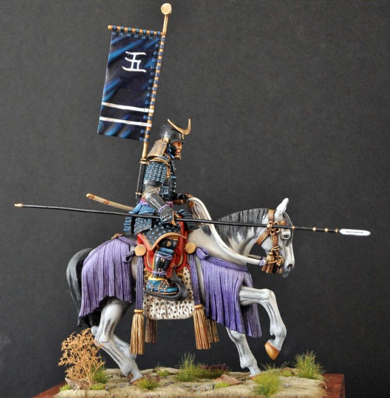 Samourai à cheval période Momoyama. 90 mm Bonapartes/Poste militaire Terminé - Page 2 Dsc_0042