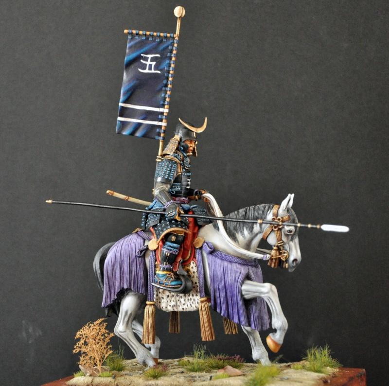 Samourai à cheval période Momoyama. 90 mm Bonapartes/Poste militaire Terminé - Page 2 Dsc_0043