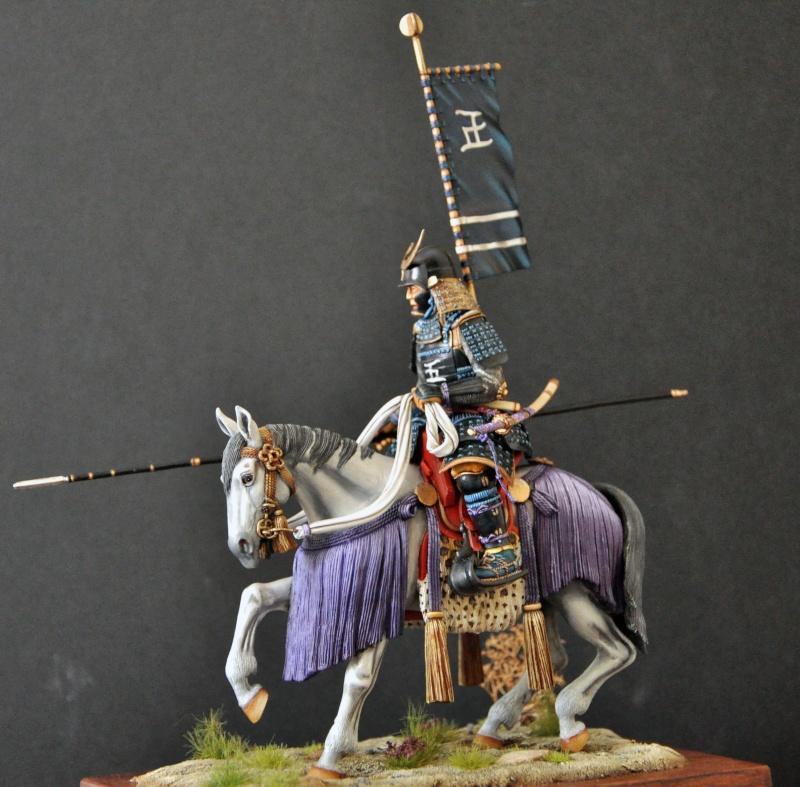 Samourai à cheval période Momoyama. 90 mm Bonapartes/Poste militaire Terminé - Page 2 Dsc_0044