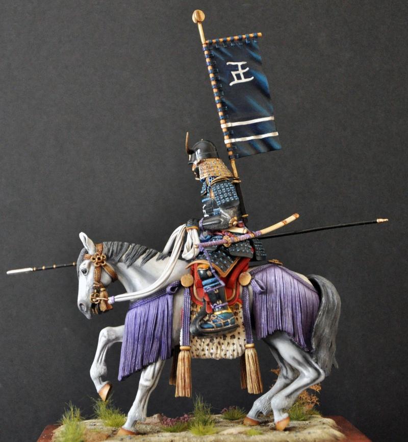 Samourai à cheval période Momoyama. 90 mm Bonapartes/Poste militaire Terminé - Page 2 Dsc_0045