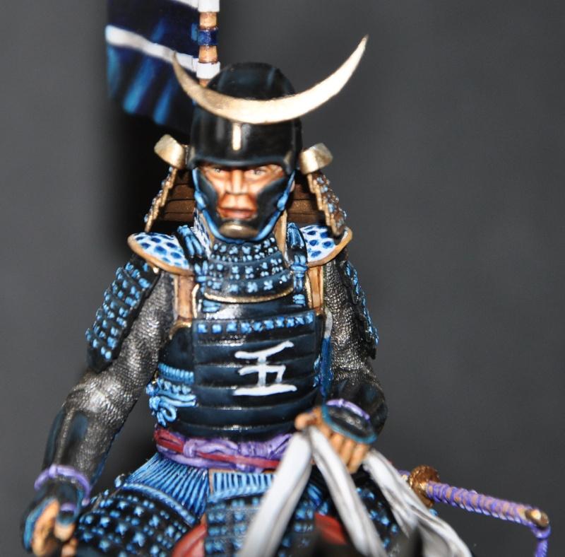 Samourai à cheval période Momoyama. 90 mm Bonapartes/Poste militaire Terminé - Page 2 Dsc_0047