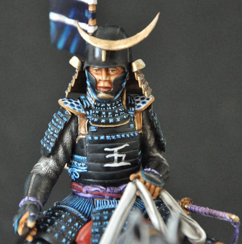 Samourai à cheval période Momoyama. 90 mm Bonapartes/Poste militaire Terminé - Page 2 Dsc_0048