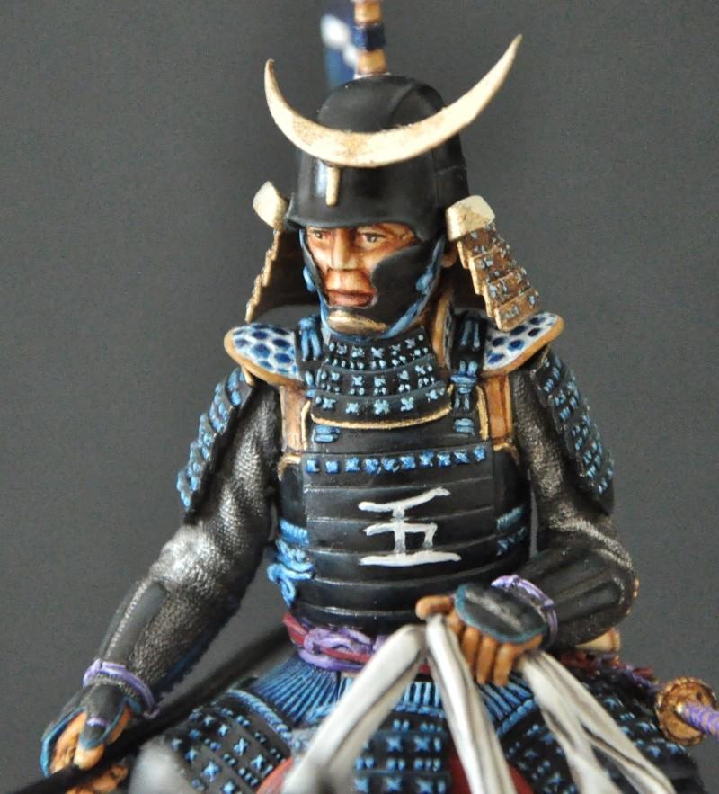 Samourai à cheval période Momoyama. 90 mm Bonapartes/Poste militaire Terminé - Page 2 Dsc_0049