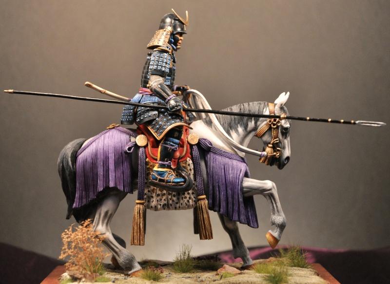 Samourai à cheval période Momoyama. 90 mm Bonapartes/Poste militaire Terminé - Page 2 Modif10