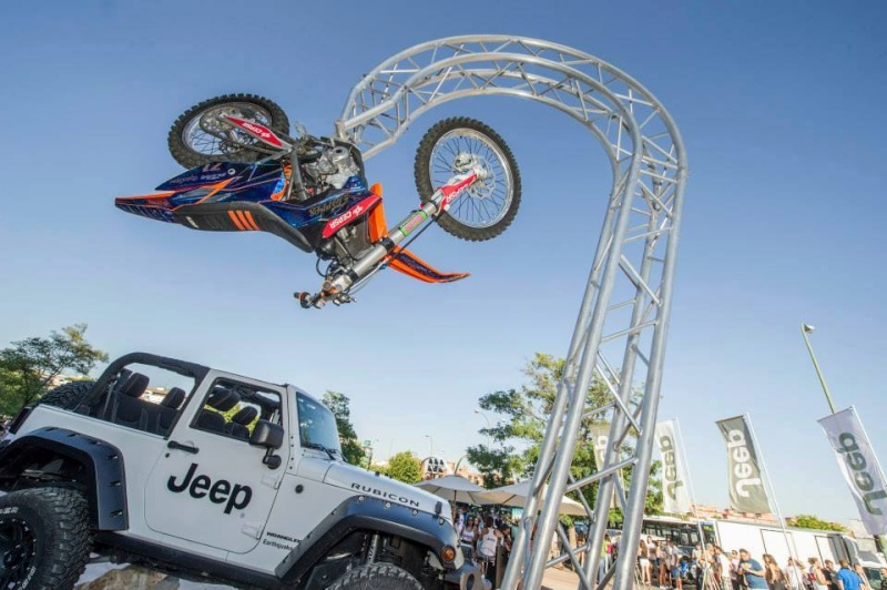 ‎Jeep‬ ‪Wrangler‬ at Red Bull X-Fighters 2014 (Espagne) 19104810