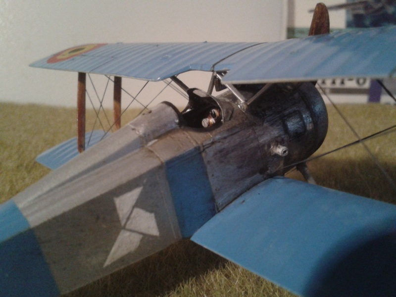 "HANRIOT HD 1 ""Willy Coppens"" 2014-083"