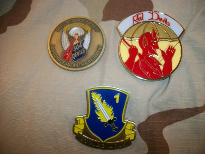 Myzone's thread of challenge coins - OEF OIF -  100_7315