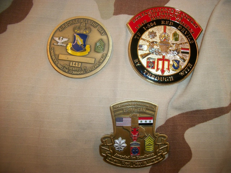Myzone's thread of challenge coins - OEF OIF -  100_7316