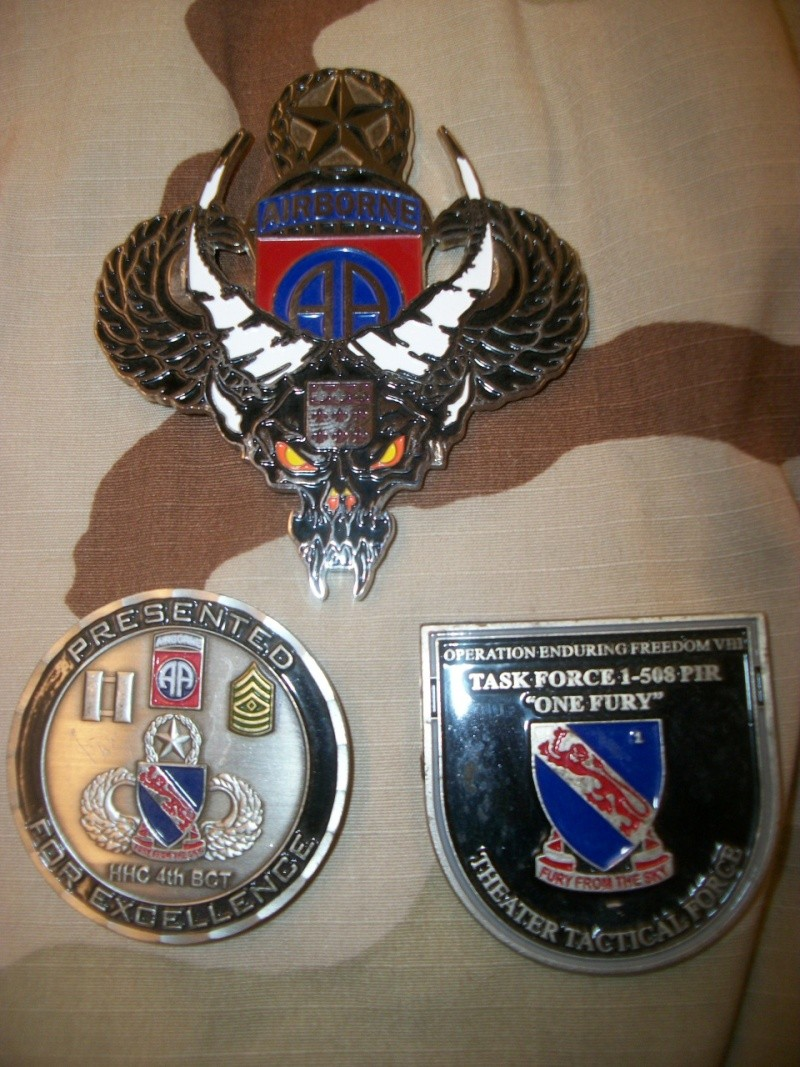 Myzone's thread of challenge coins - OEF OIF -  100_7317