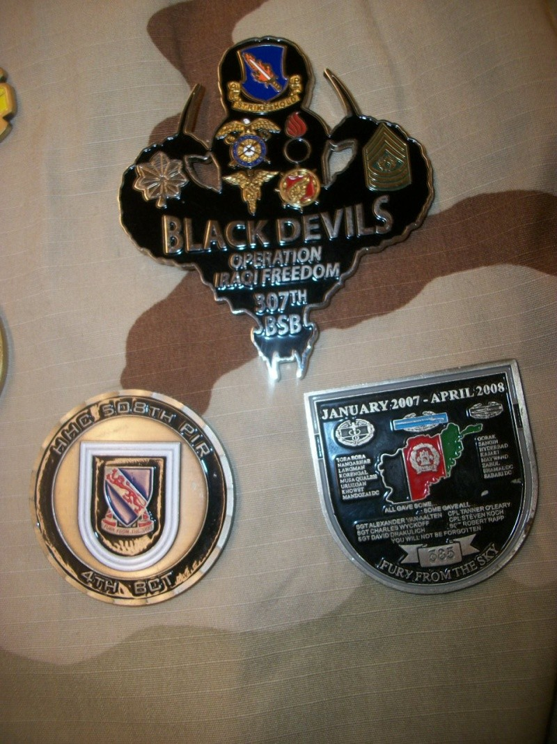 Myzone's thread of challenge coins - OEF OIF -  100_7318
