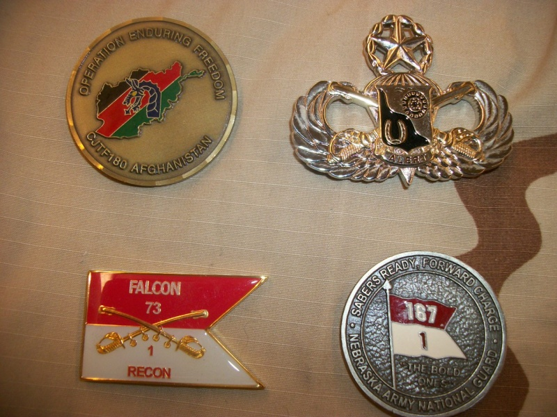 Myzone's thread of challenge coins - OEF OIF -  100_7323