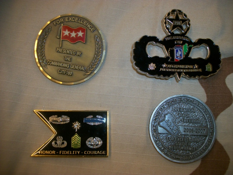 Myzone's thread of challenge coins - OEF OIF -  100_7324