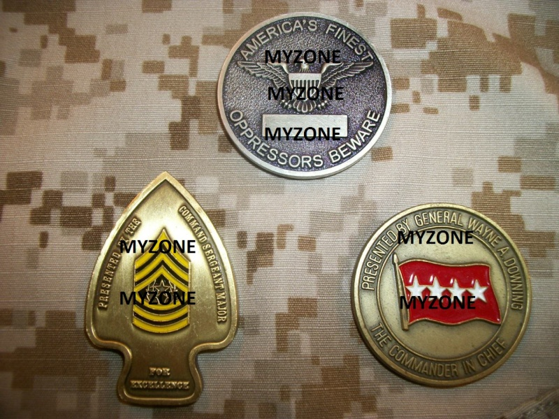 Myzone's thread of challenge coins - OEF OIF -  100_7328