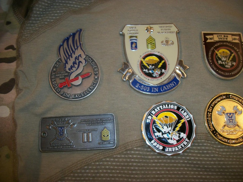 Myzone's thread of challenge coins - OEF OIF -  100_7610