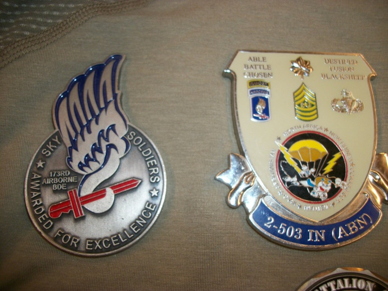 Myzone's thread of challenge coins - OEF OIF -  100_7611