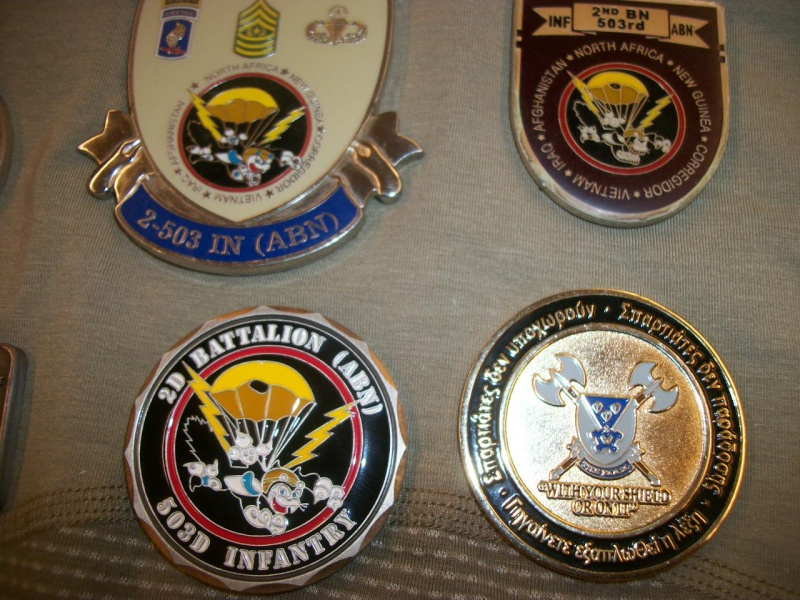 Myzone's thread of challenge coins - OEF OIF -  100_7612