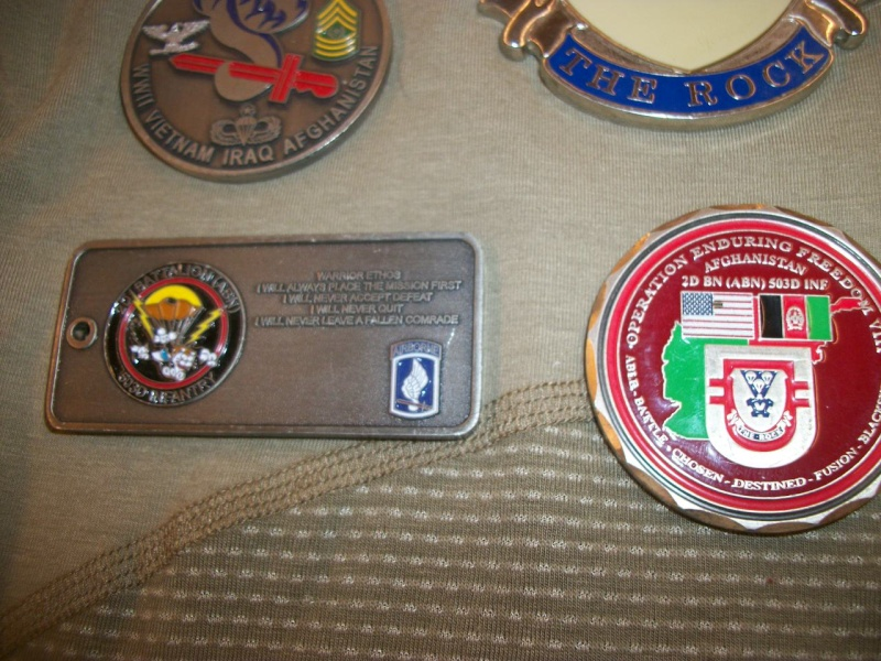 Myzone's thread of challenge coins - OEF OIF -  100_7615