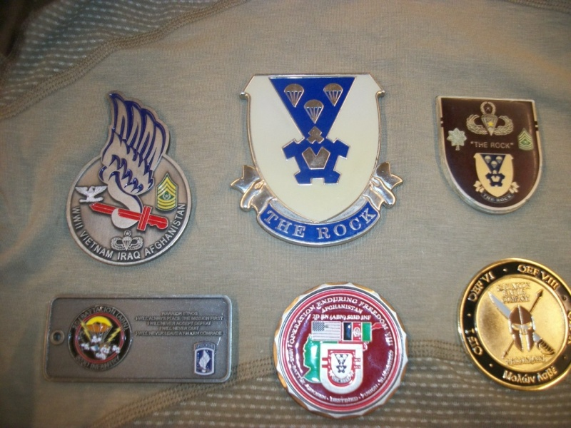 Myzone's thread of challenge coins - OEF OIF -  100_7617