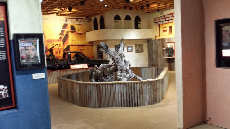 The US Army Airborne and Special Operations Museum - Temporary Exibit - Battle of Mogadishu 20140626