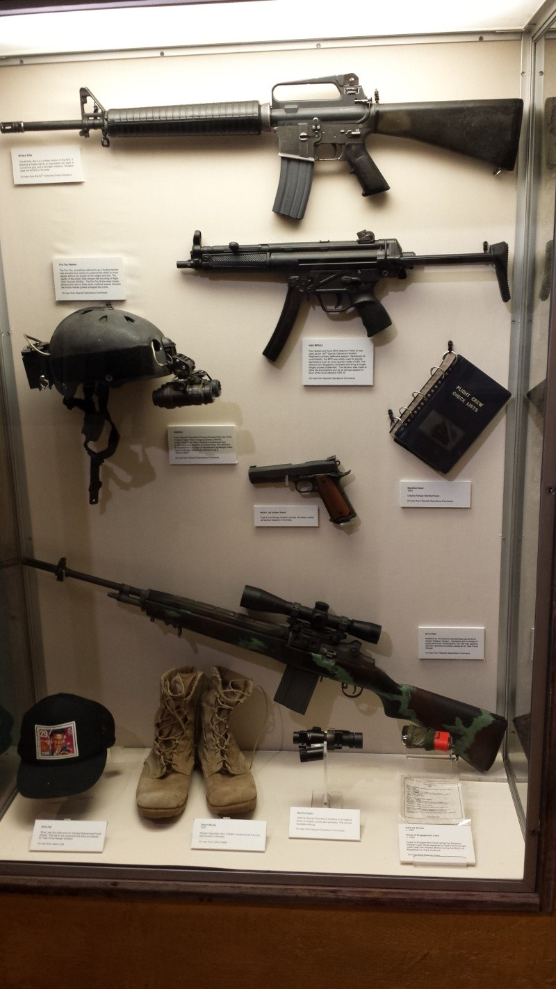 The US Army Airborne and Special Operations Museum - Temporary Exibit - Battle of Mogadishu 20140630