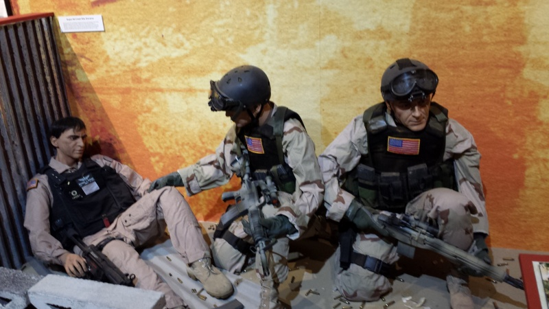 The US Army Airborne and Special Operations Museum - Temporary Exibit - Battle of Mogadishu 20140634