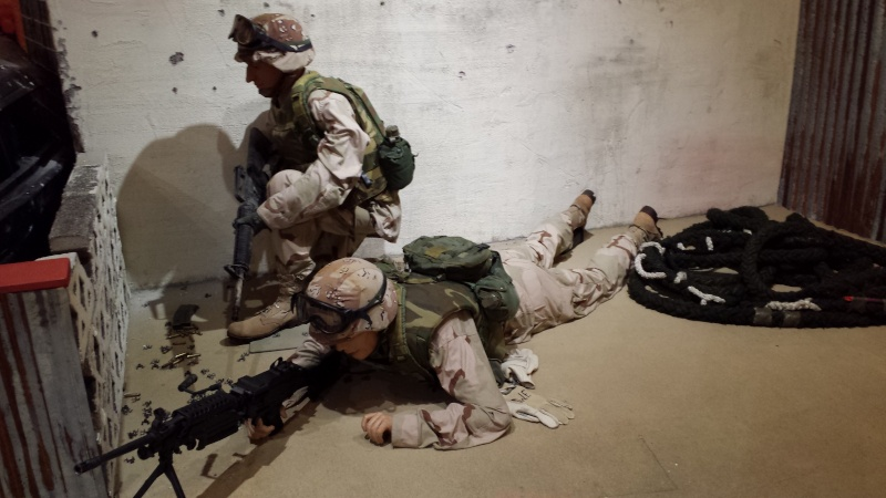 The US Army Airborne and Special Operations Museum - Temporary Exibit - Battle of Mogadishu 20140637
