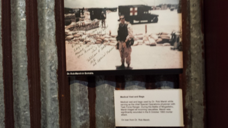 The US Army Airborne and Special Operations Museum - Temporary Exibit - Battle of Mogadishu 20140643