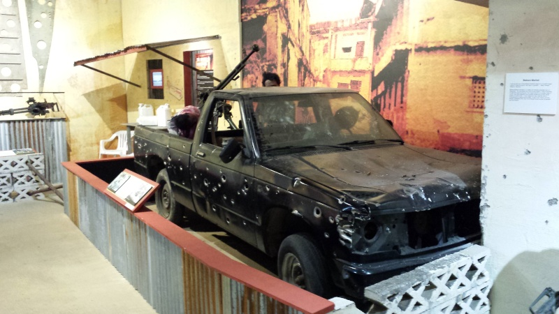 The US Army Airborne and Special Operations Museum - Temporary Exibit - Battle of Mogadishu 20140646