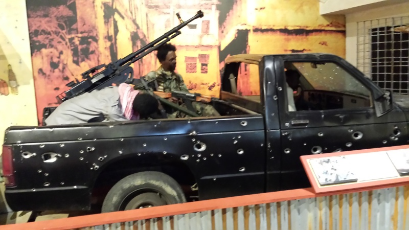 The US Army Airborne and Special Operations Museum - Temporary Exibit - Battle of Mogadishu 20140647