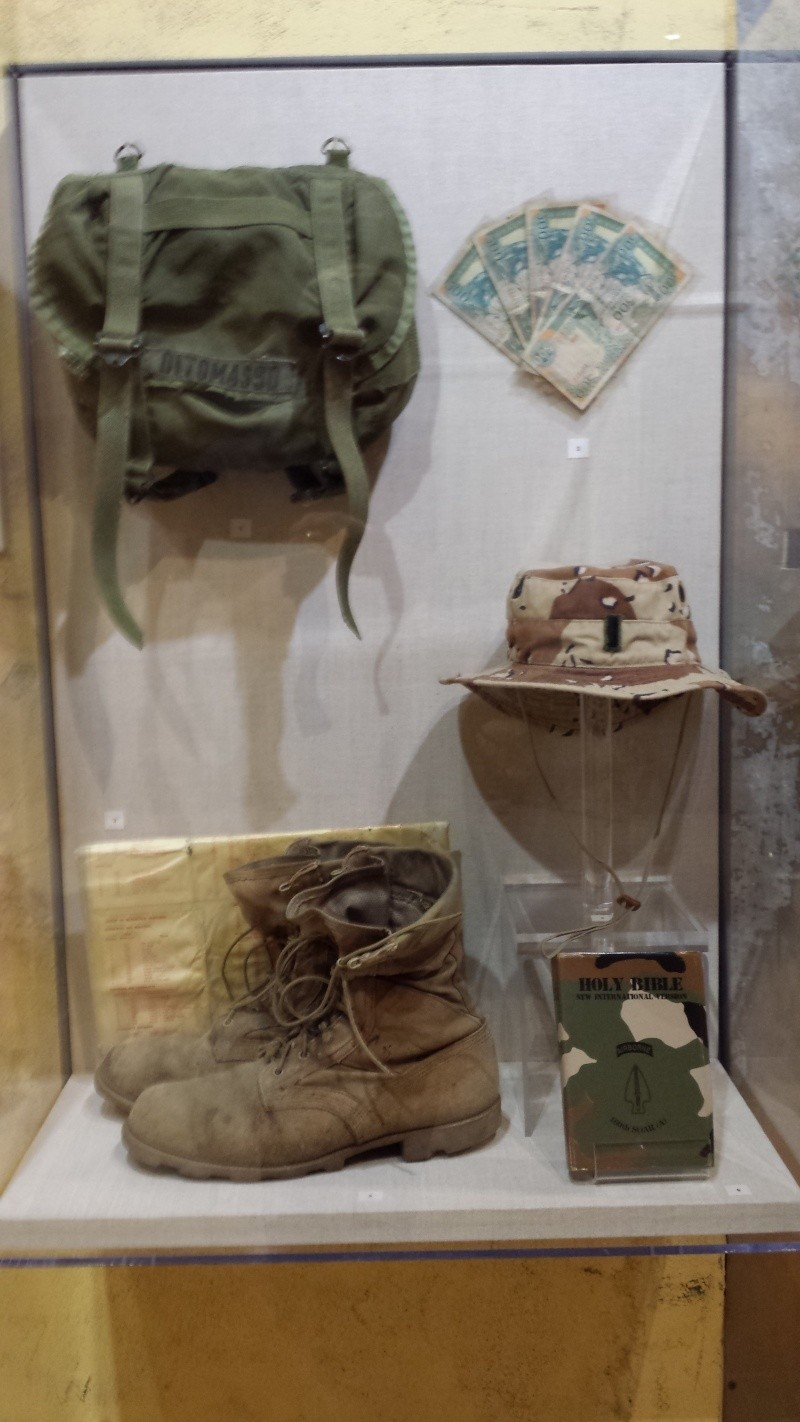 The US Army Airborne and Special Operations Museum - Temporary Exibit - Battle of Mogadishu 20140648