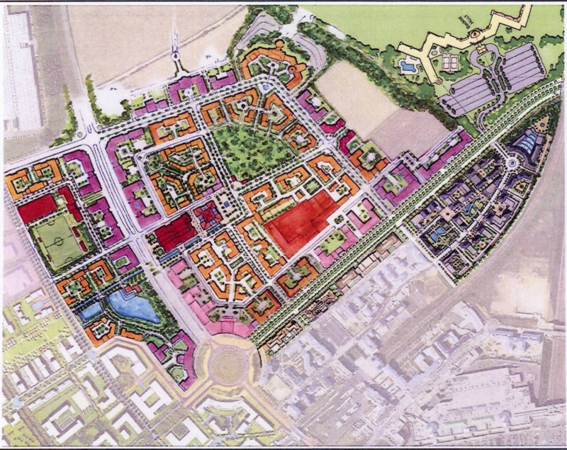 Disney-MGM Studios Europe, le master plan d'origine Back_l11