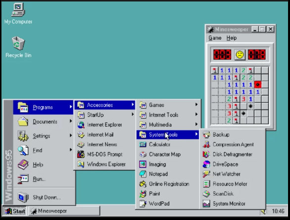 Windows 95 le retour  Captur70