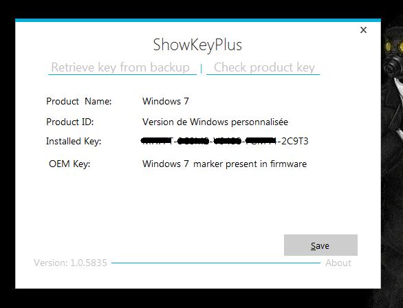 ShowKeyPlus Captur78