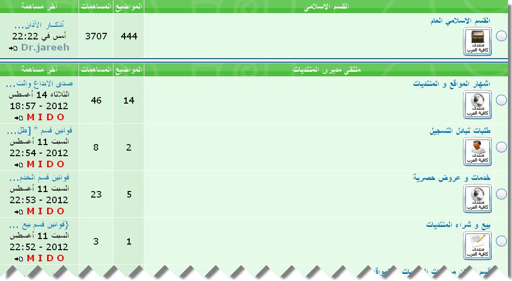 كافية العرب اكبر منتدى عام فى تاريخ احلى منتدى  310